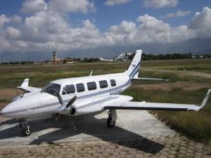 Our First International Flight