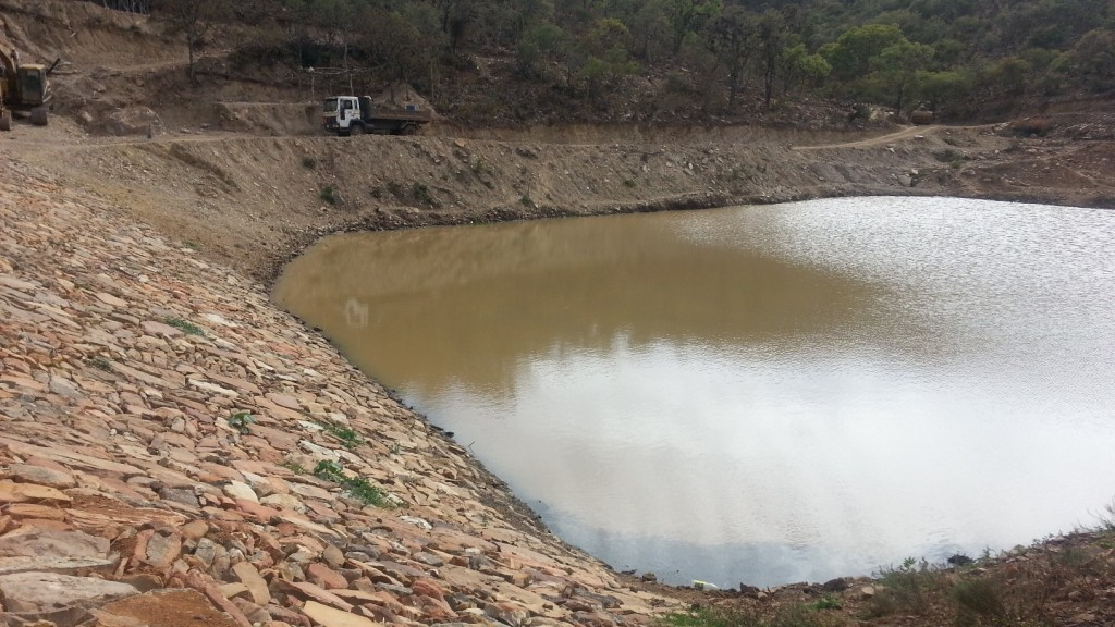 Collpana Water Reservoir Update