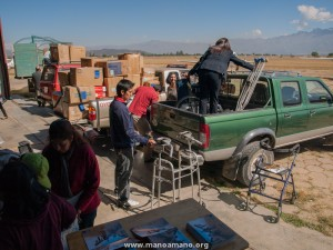 Arrival of Nearly 60,000 Pounds of Donated Supplies to Bolivia