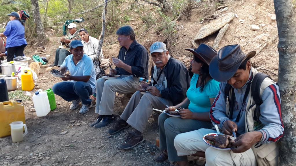 Dedicating a Water Project in Collpana, Bolivia