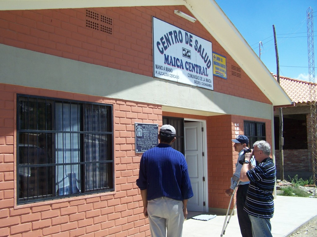 Maica Central clinic located in the city of Cochabamba.