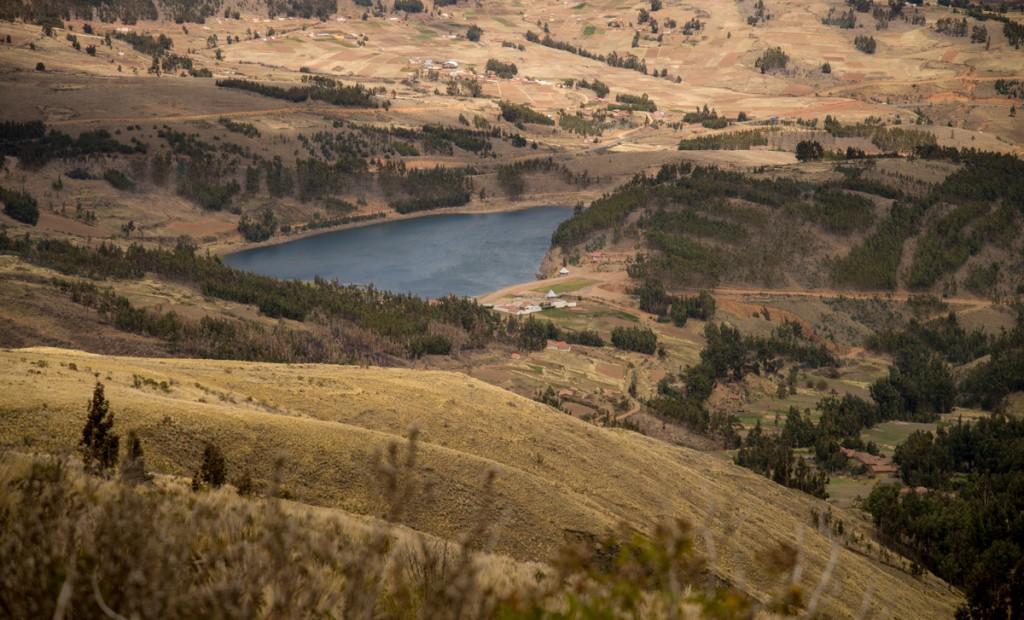 Ucuchi reservoir.
