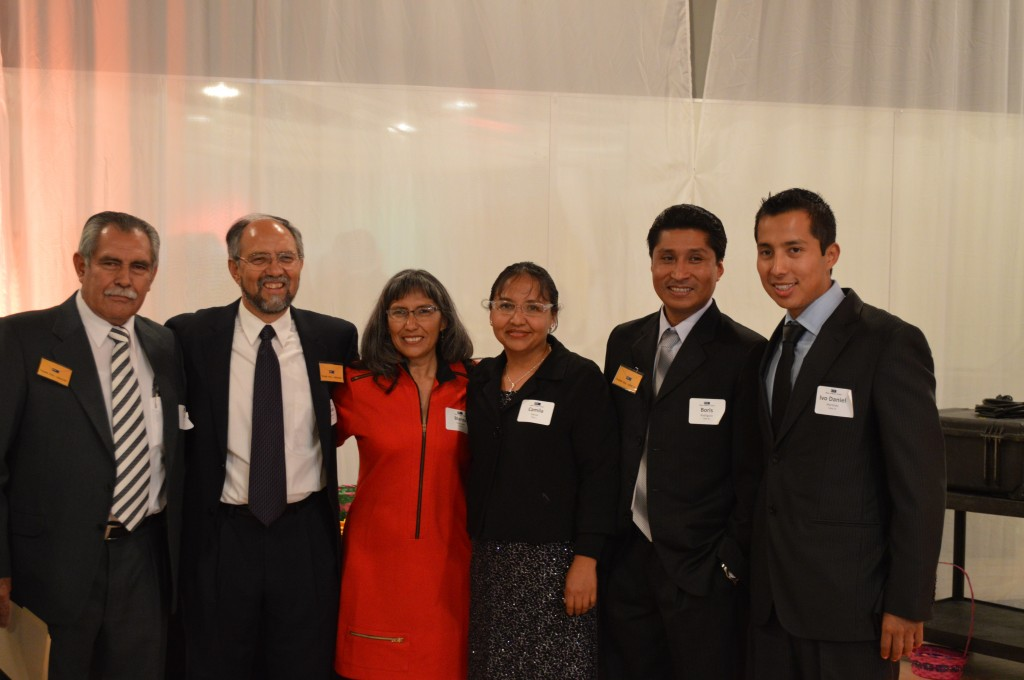 Staff from Mano a Mano's counterpart organization in Bolivia traveled to Minnesota for the celebration.