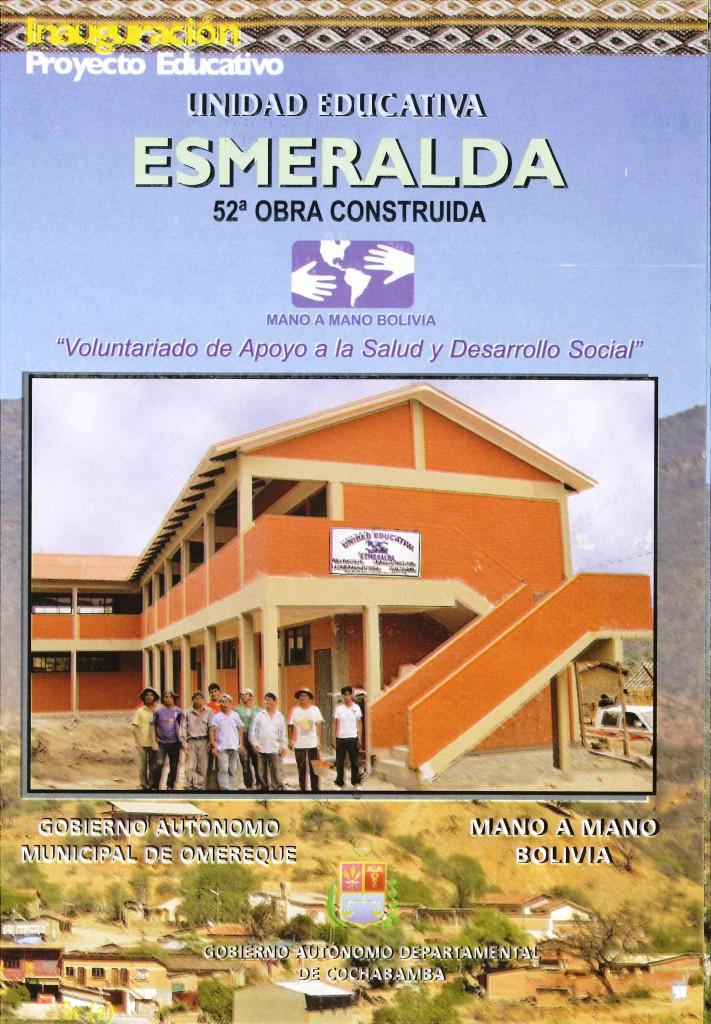 Esmeralda School is Complete