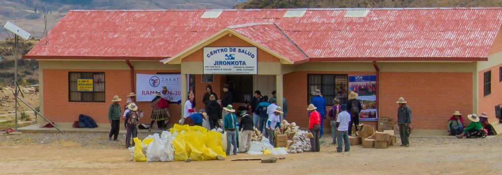 Mano a Mano's clinic in Jironkota.