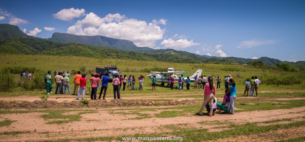 El Palmar Road Project – Almost a Year Ago