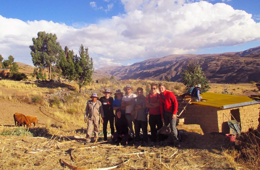 Oxford Development Abroad Volunteers in Tapacari, Bolivia – 2015