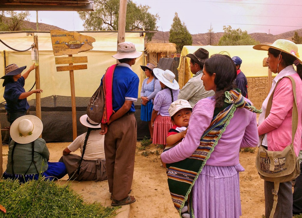 Climate Change & Sustainable Agriculture Workshop for Bolivian Farmers