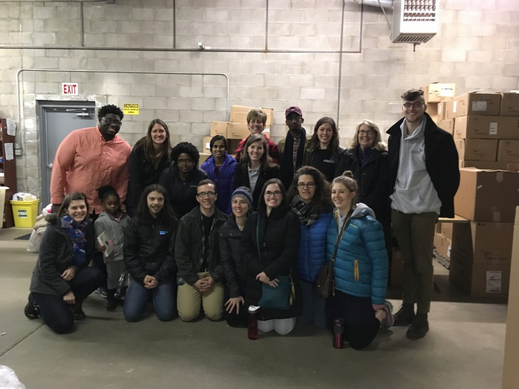 Thanks MN Alliance With Youth, St. Kate's, and Mano a Mano Volunteers!