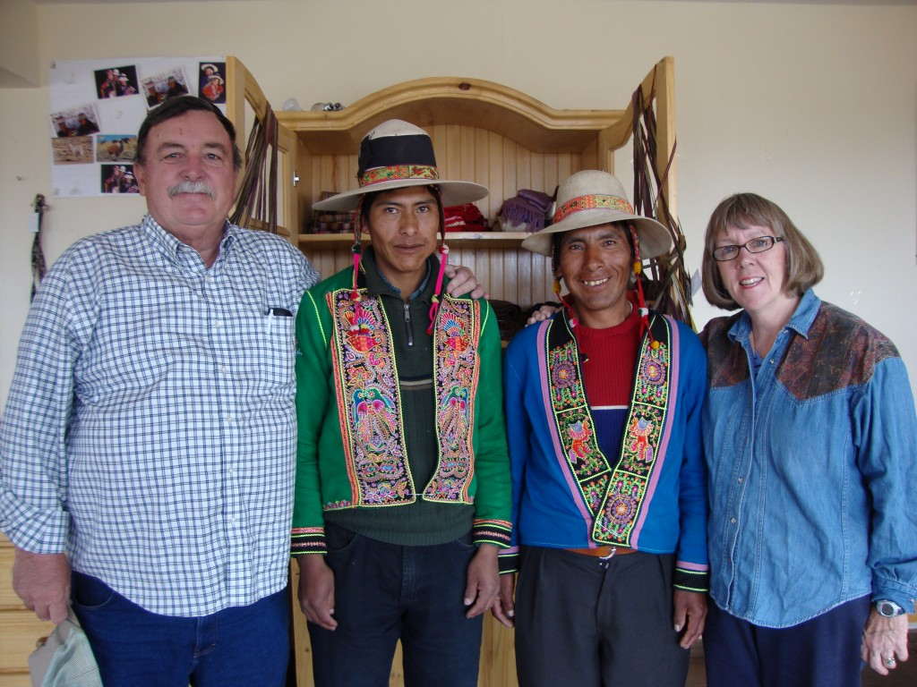 Richard and Susan in Japo, Bolivia in 2010.