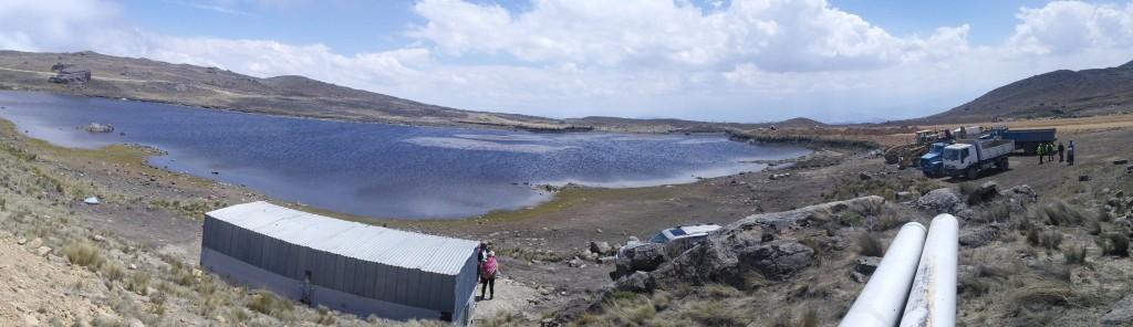 Water Filling in the Maldonado Water Reservoir