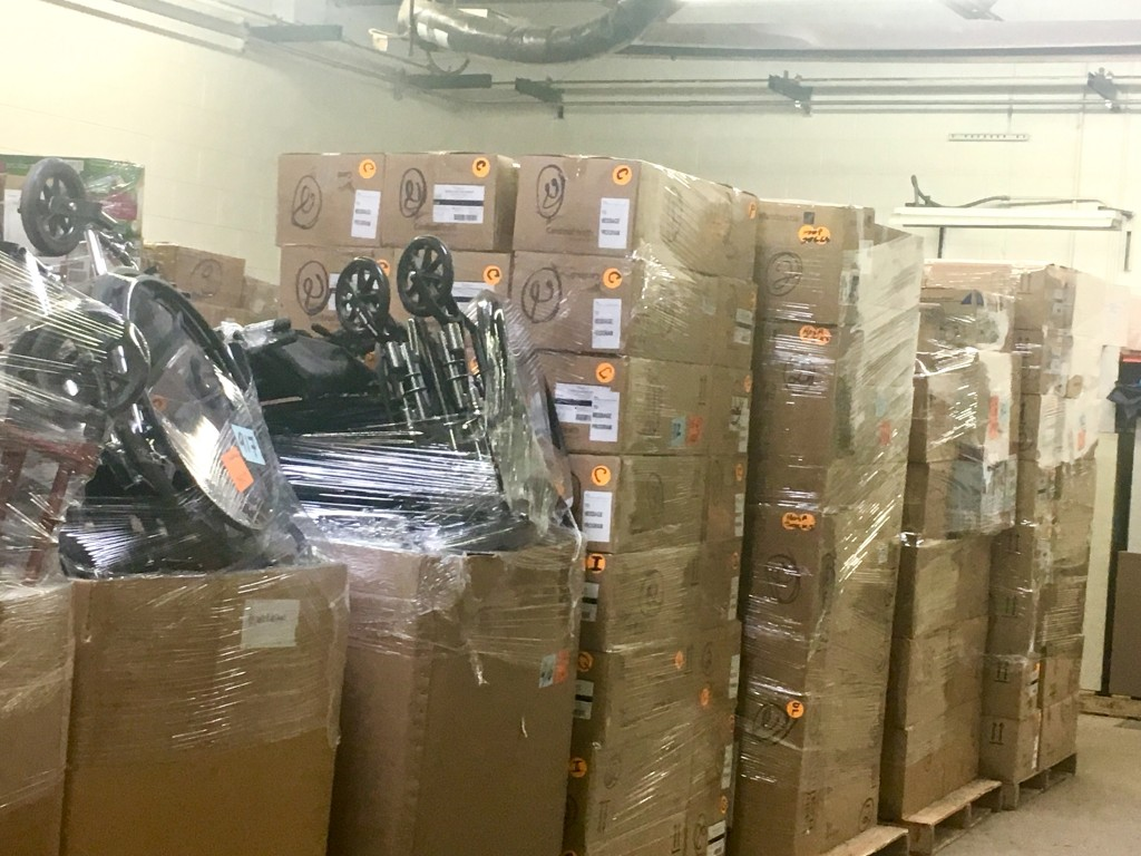 We Have Received 110,000+ Pounds of Supplies So Far in 2018
