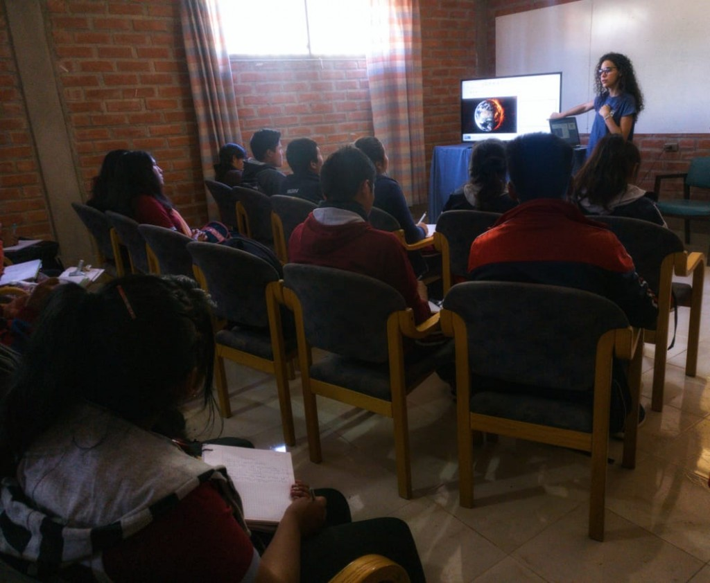Training Workshop for Sacabamba Students and Teachers