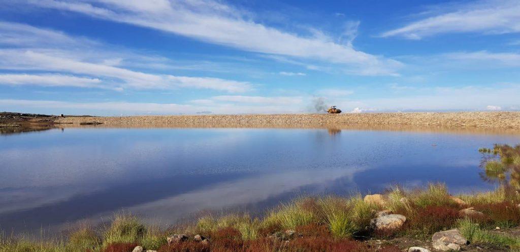 The Maldonado Water Reservoir is Full