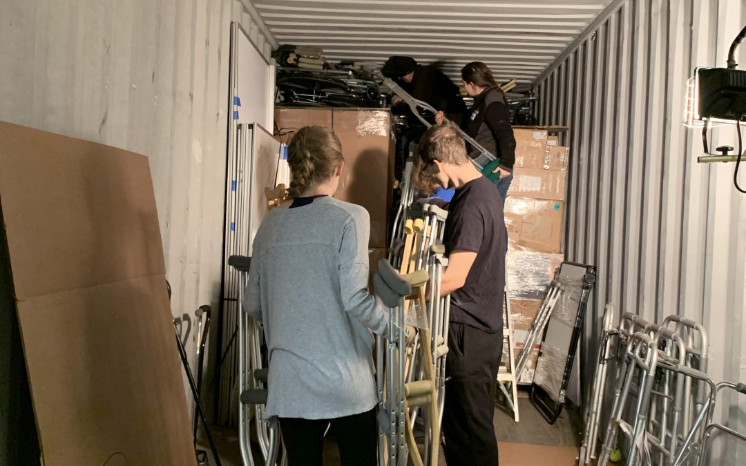 Day 3 of Loading Containers – Almost Done!