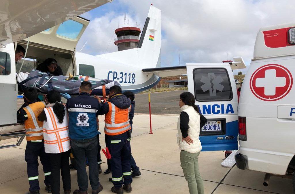 301 People Received Emergency Flights in 2019
