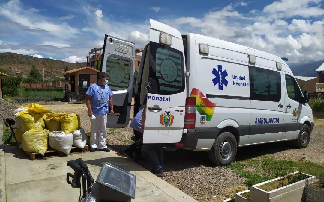 Donating Supplies to Hospital Cochabamba