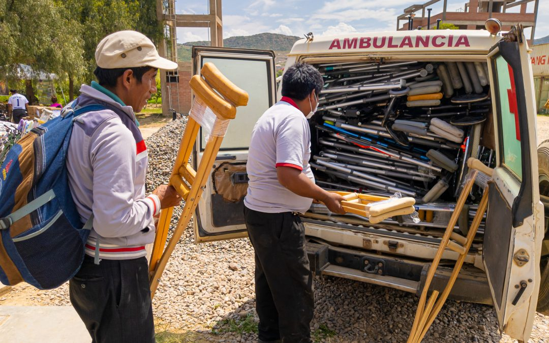 Distributing Supplies in Bolivia – March 2020