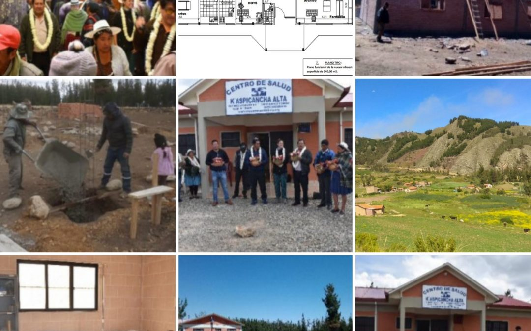 New Health Clinic in Kaspi Cancha, Bolivia is Complete