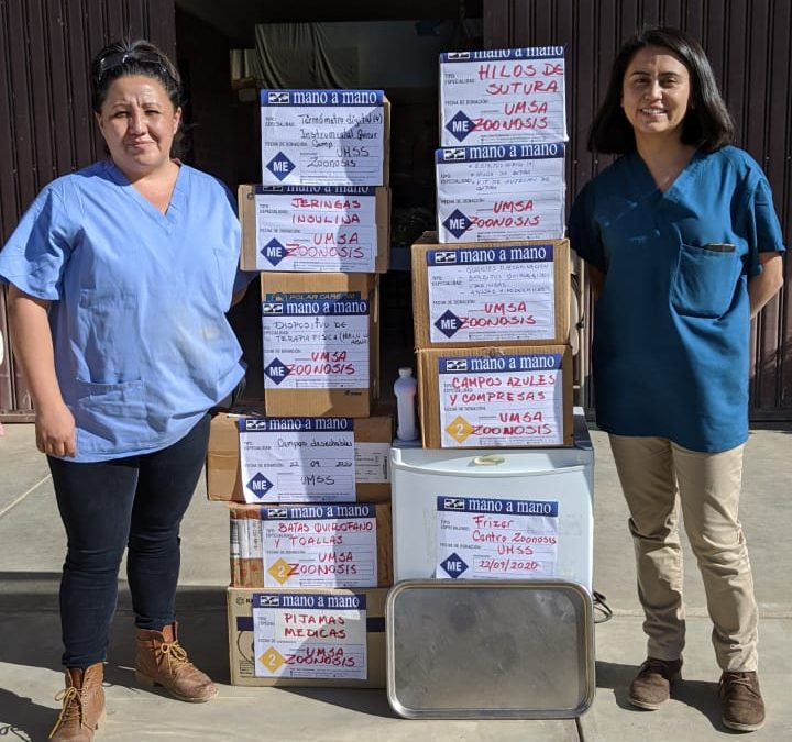 Donating Medical Supplies and Equipment to the Centro Zoonosis San Simón in Cochabamba