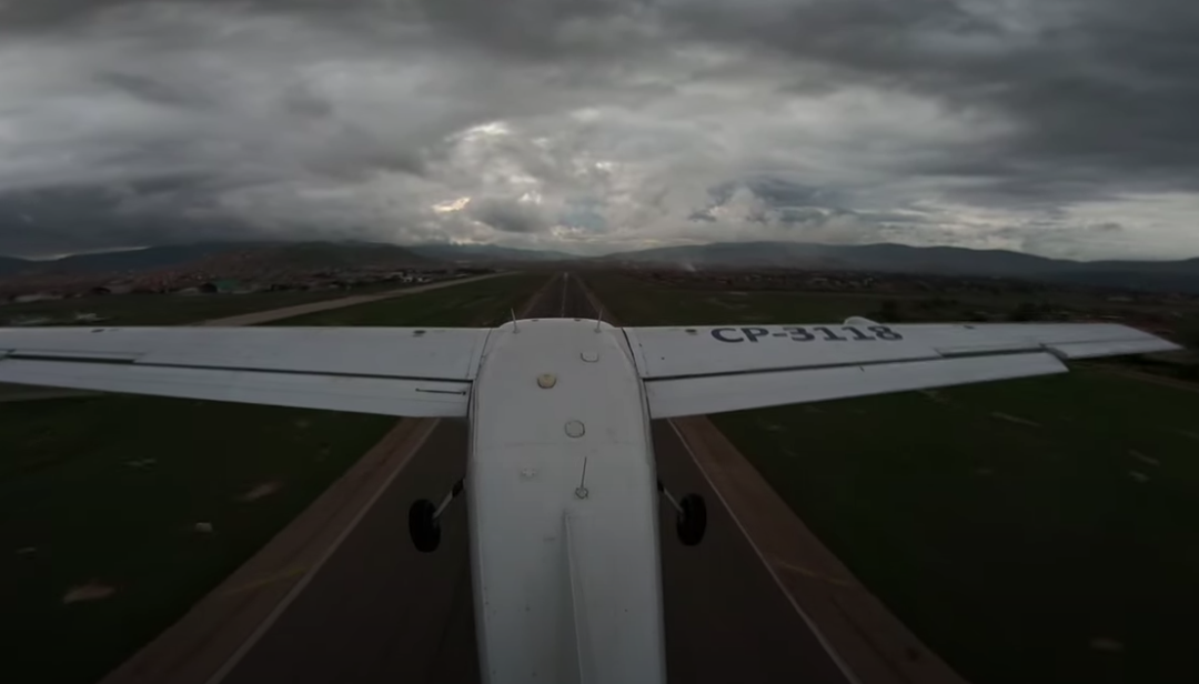 Flying in Bolivia on a Cloudy Day (February 2021)