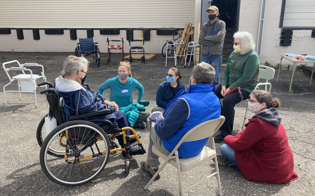 Distributing Mobility Aids in the Twin Cities