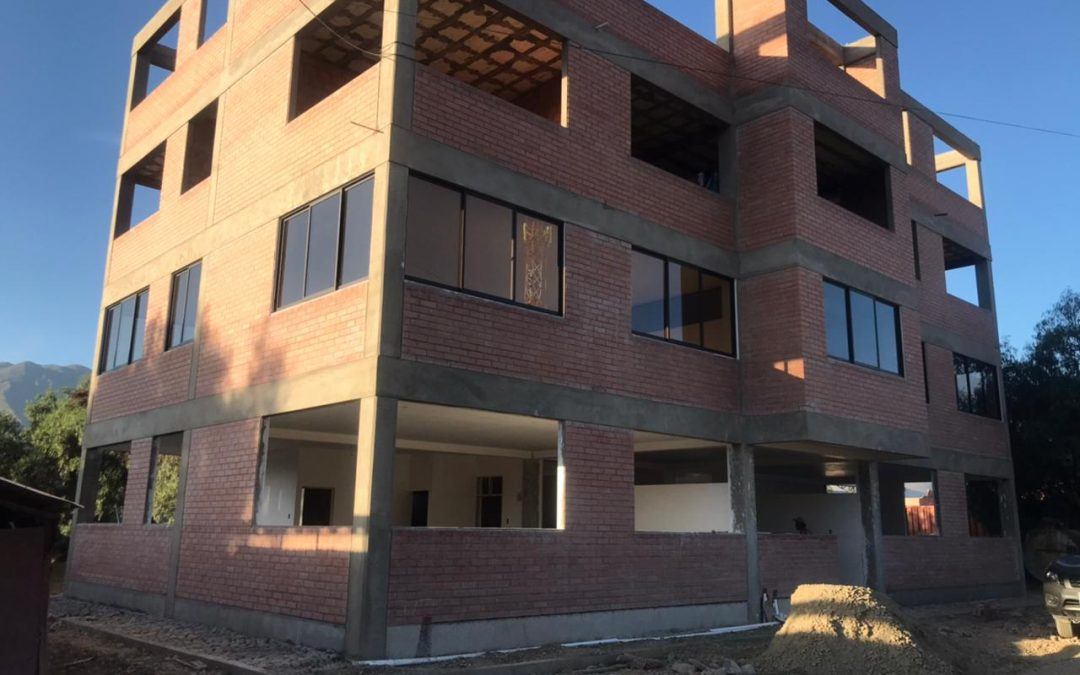 Constructing an Office Building for Mano a Mano's Counterpart Organizations in Cochabamba, Bolivia