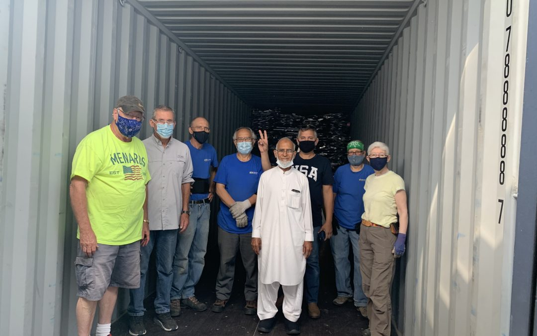 Donating Supplies for Distribution in Jordan
