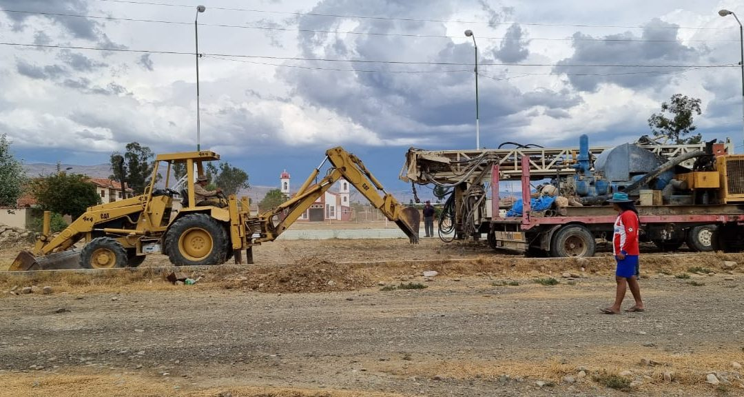 Building a New Water Well in Pampa Grande, Bolivia