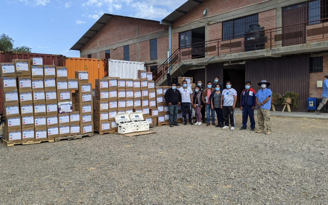Donating Medical Supplies for Hospitals in Cochabamba